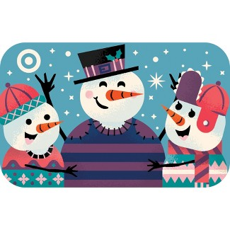 Snowman Sweaters Gift Card