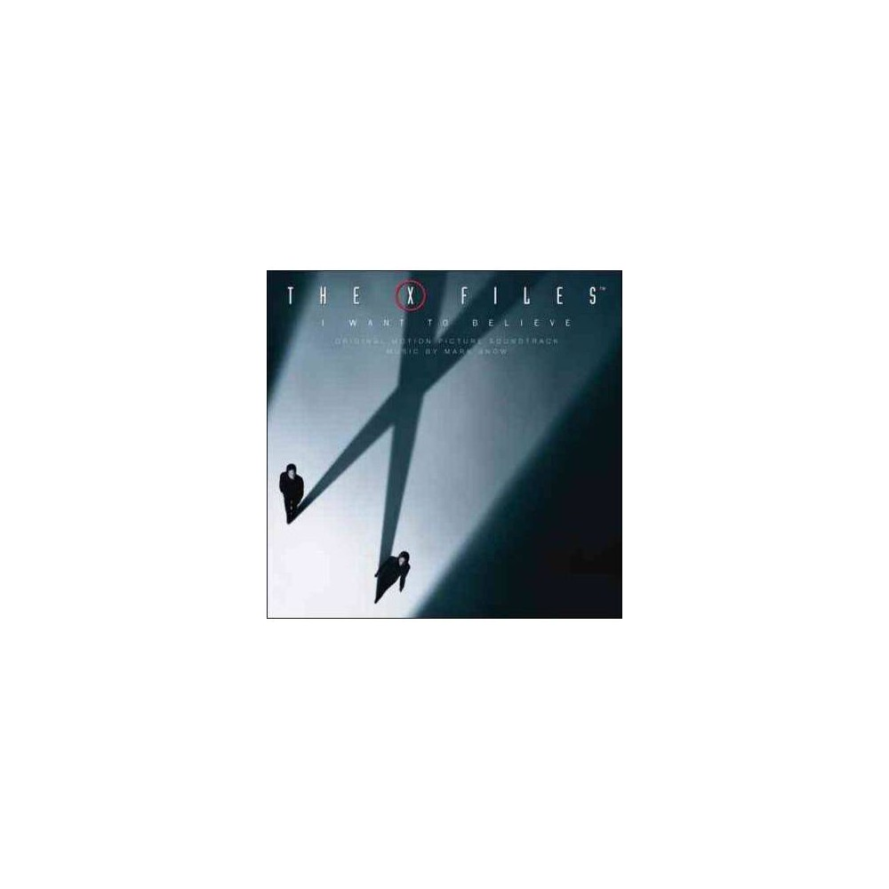 Mark Snow - X-files:I Want To Believe (Ost) (CD)