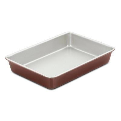 """Cuisinart Chef's Classic 9"""" X 13"""" Non-Stick Bronze Color Cake Pan - AMB-139CPBZ"""