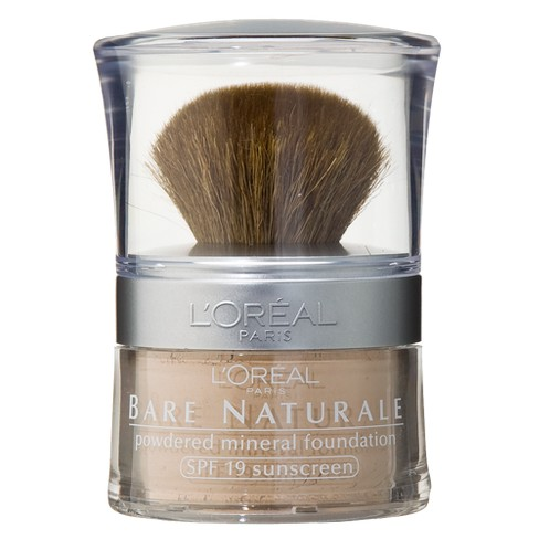 L'Oreal Paris True Match Mineral Foundation - Light Shades - 0.35oz - image 1 of 3