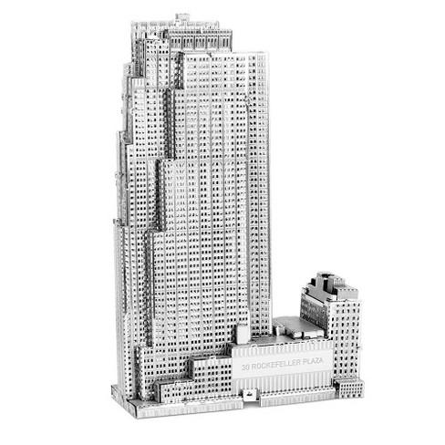 Metal Earth 3D Metal Model - 30 Rockefeller Plaza - image 1 of 3