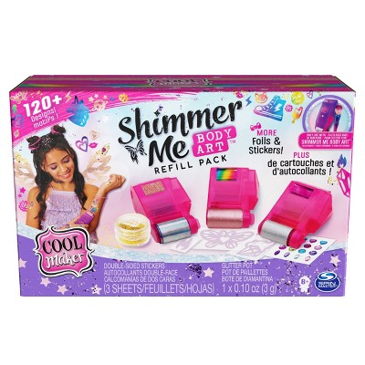 Cool Maker Shimmer Me Body Art Refill Pack