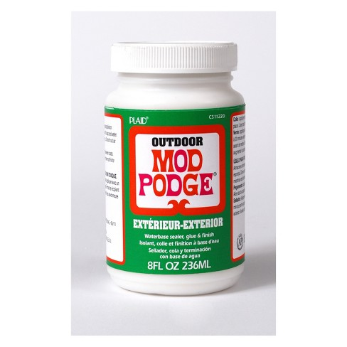 Mod Podge 8oz Outdoor Glue Clear - image 1 of 1