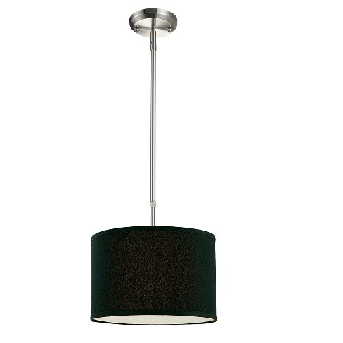 Pendant with Black Glass Ceiling Lights - Z-Lite - image 1 of 1