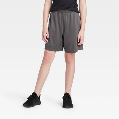 """Girls' 6"""" Performance Shorts - All in Motion™ Gray S"""