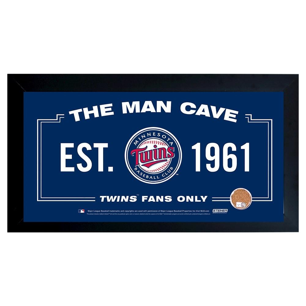 Minnesota Twins Steiner Sports Man Cave Sign - 20