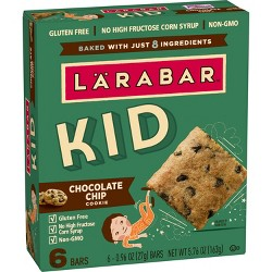 Larabar KID Chocolate Chip Cookie Protein Bars - 6ct