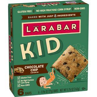 Larabar KID Chocolate Chip Cookie Protein Bars - 6ct