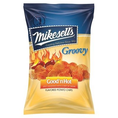 Mikesell's Groovy Good'n Hot Flavored Potato Chips - 10oz
