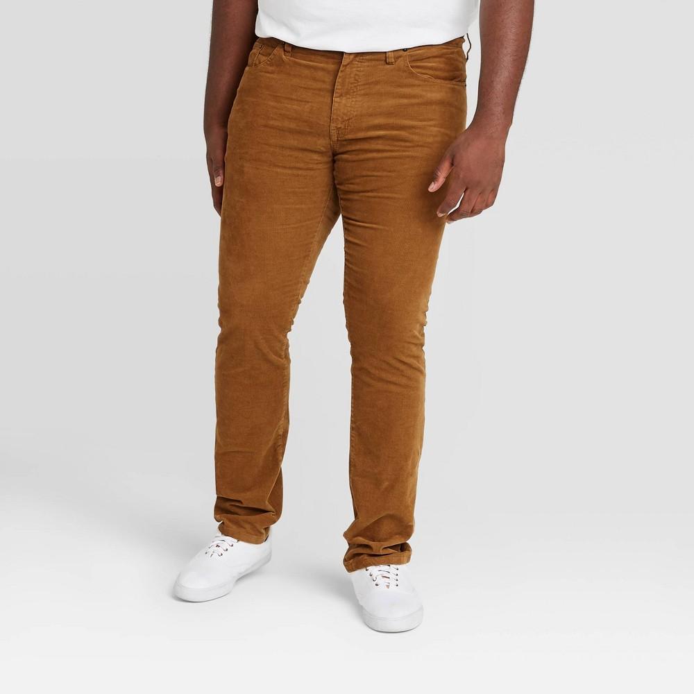 Top Men's Big & Tall Slim Fit Corduroy 5-Pocket Pants - Goodfellow & Co™