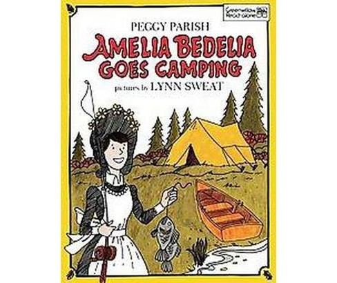 Amelia Bedelia Goes Camping (Hardcover) (Peggy Parish) - image 1 of 1