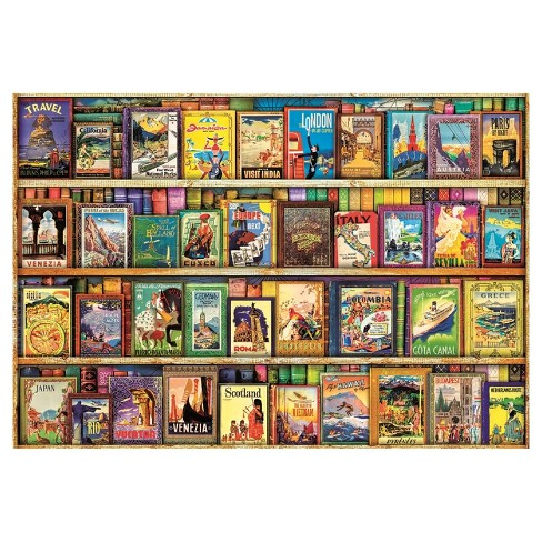 Educa World Travel Guides 1000pc Puzzle - image 1 of 1