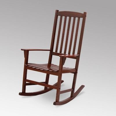 Alston Outdoor Patio Rocking Chair - Brown - Cambridge Casual