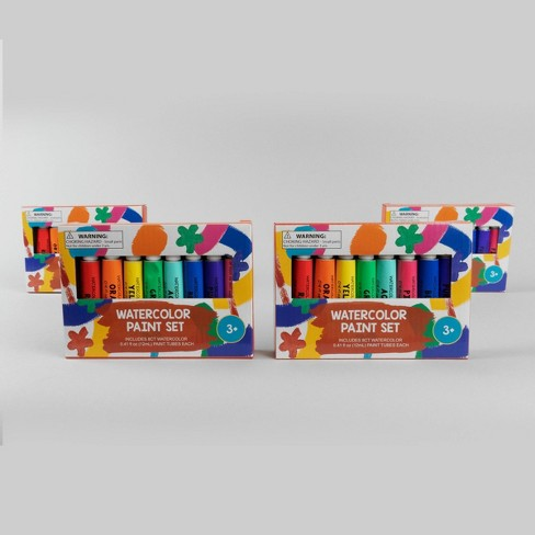 4ct Watercolor Kit with 8 Colors - Bullseye's Playground™ - image 1 of 4