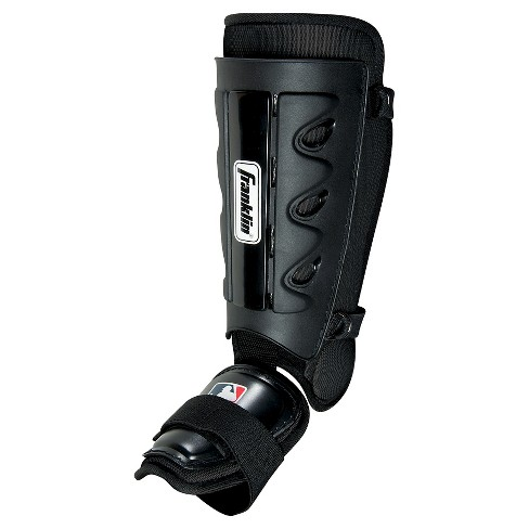 Franklin Sports MLB Youth Batter's Shin Guard - Black - image 1 of 1