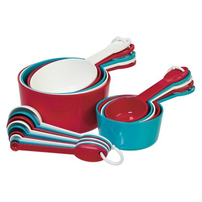 Progressive International Measuring Set - Red/Blue/White (19 Pc)