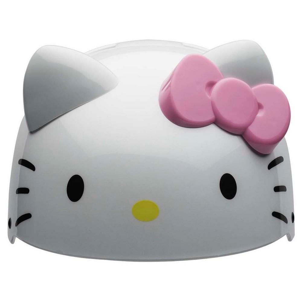 Hello Kitty 3D Toddler Helmet - White