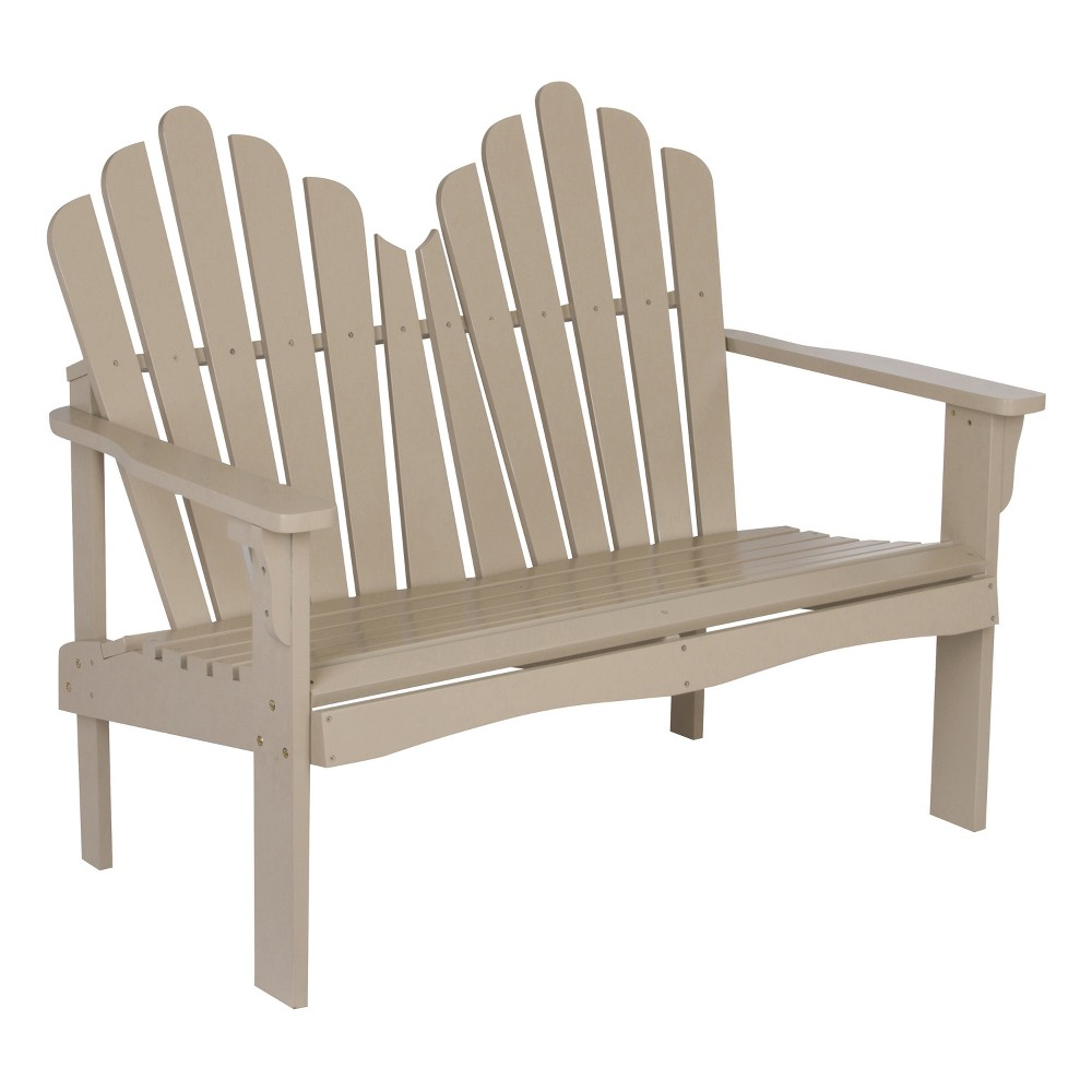 "Image of ""43.50"""" Westport Loveseat Gray - Shine Company Inc."""