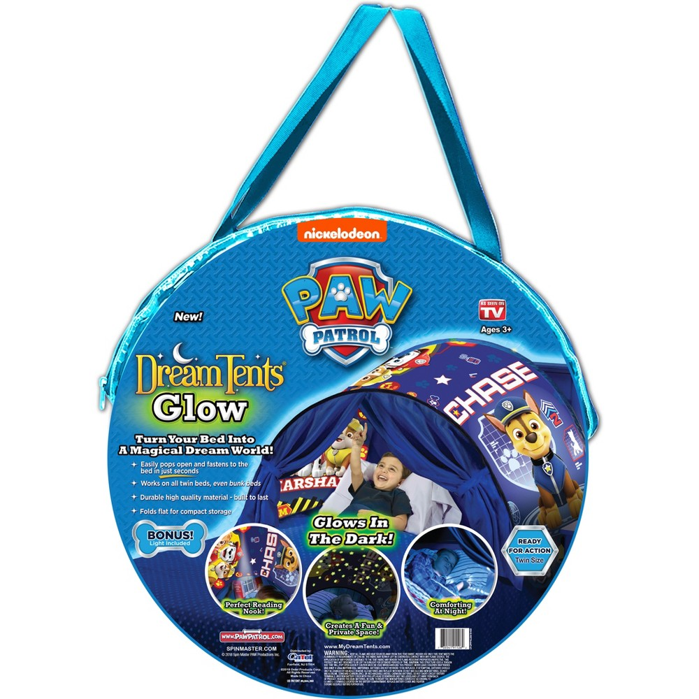 Image of As Seen on TV Paw Patrol Dream Tent Blue