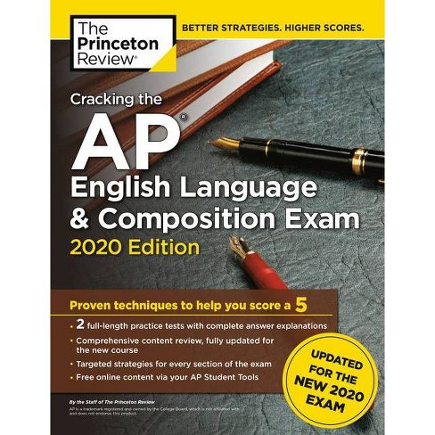 Cracking the AP English Language & Composition Exam, 2020 Edition - (College Test Preparation) - image 1 of 1