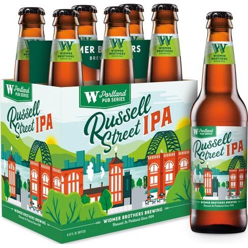 Widmer Brothers Russell Street IPA Beer - 6pk/12 fl oz Bottles - image 1 of 3