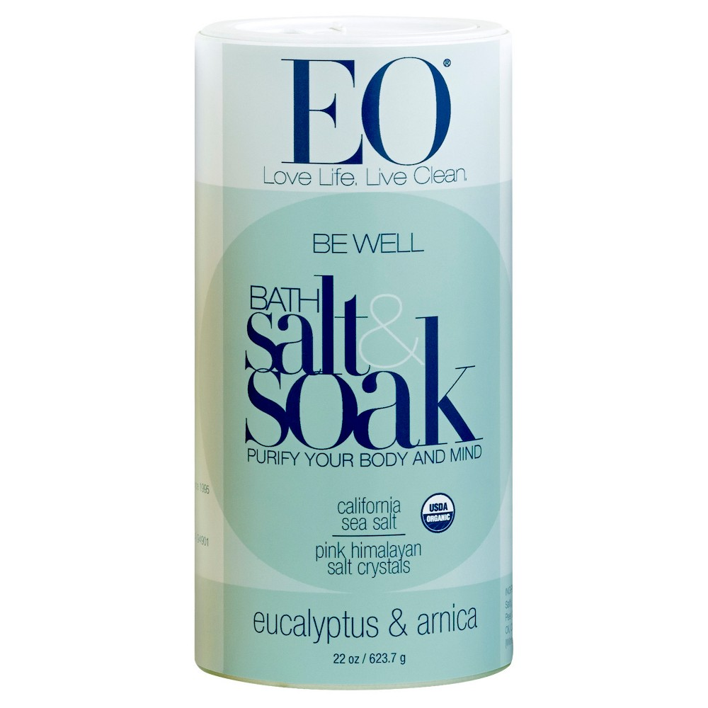 EO Be Well Eucalyptus & Arnica Bath Salts - 22.0 oz