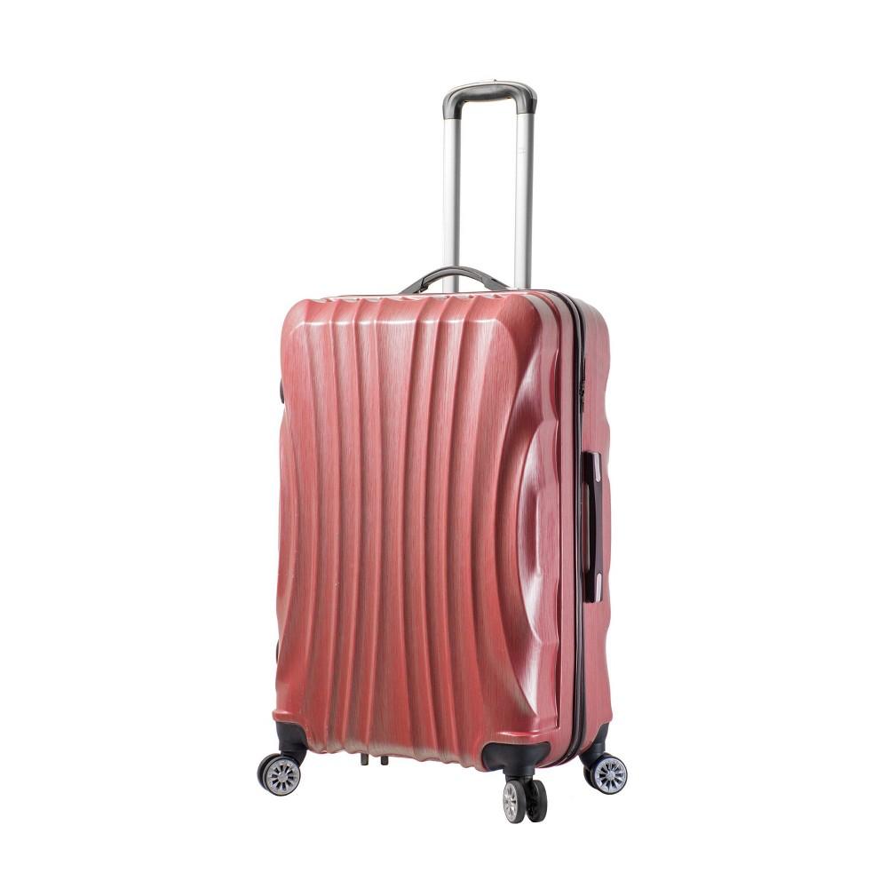 "Image of ""Mia Viaggi ITALY Bari 28"""" Hardside Suitcase - Red"""