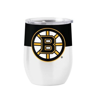NHL Boston Bruins 16oz Retro Wine Tumbler