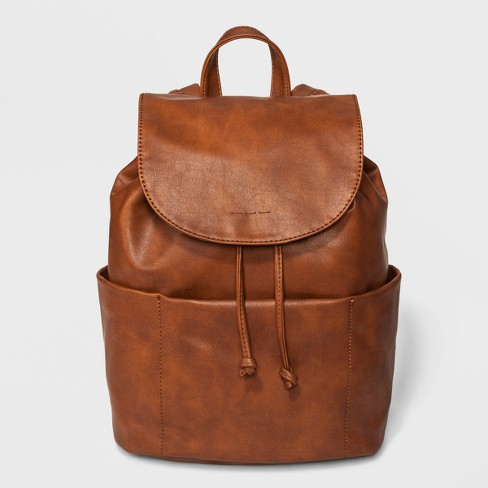 Rowan Soft Backpack - Universal Thread™ Cognac - image 1 of 4