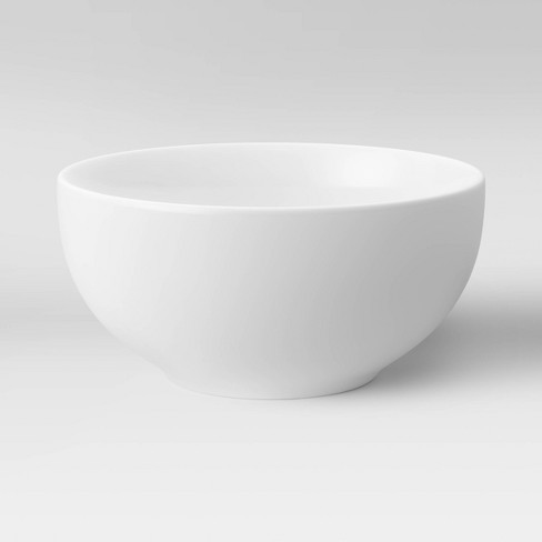 24oz Porcelain Bowl White - Threshold™ - image 1 of 2