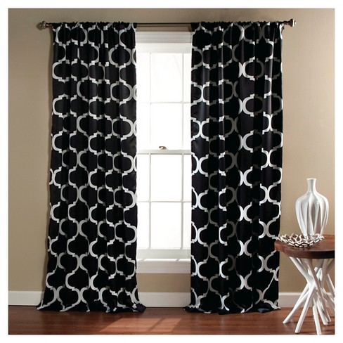 Geo Blackout Curtain Panels Set of 2 - image 1 of 1