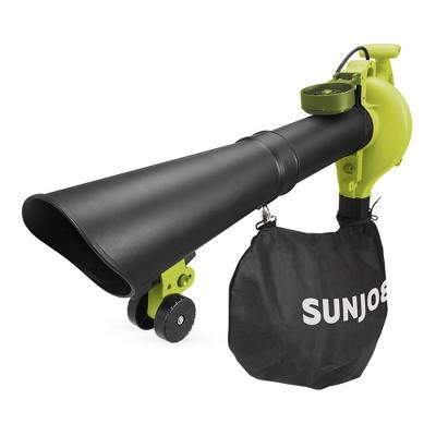 Sun Joe SBJ605E 3-in-1 Electric Blower   250 MPH   14 Amp   Vacuum   Mulcher