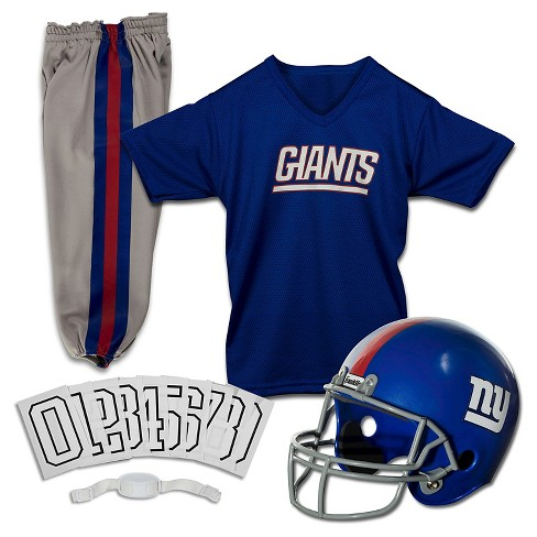 new concept c8ab0 8bef0 Franklin Sports NFL New York Giants Deluxe Uniform Set