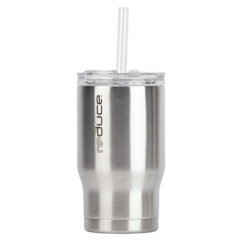 e7efddff344 Reduce 14oz Stainless Steel Tumbler With Lid And Straw Silver