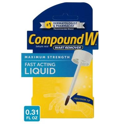 Compound W Maximum Strength Fast Acting Liquid Wart Remover - 0.31 fl oz