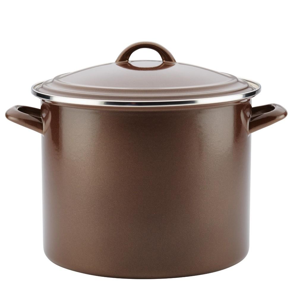 Ayesha Curry 12qt Stock Pot Brown, Brown Sugar