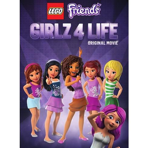 Lego Friends Girlz 4 Life Dvdvideo Target