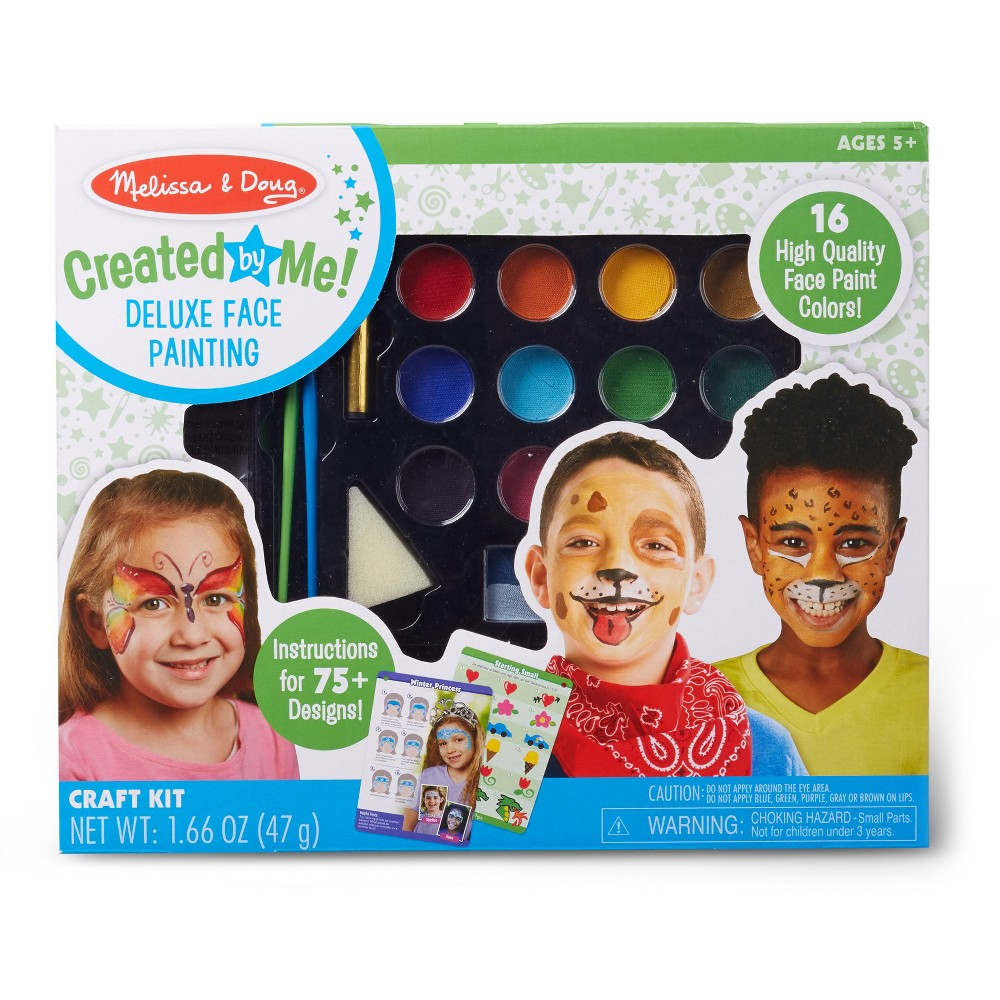 Image of Melissa & Doug Deluxe Face Painting Kit