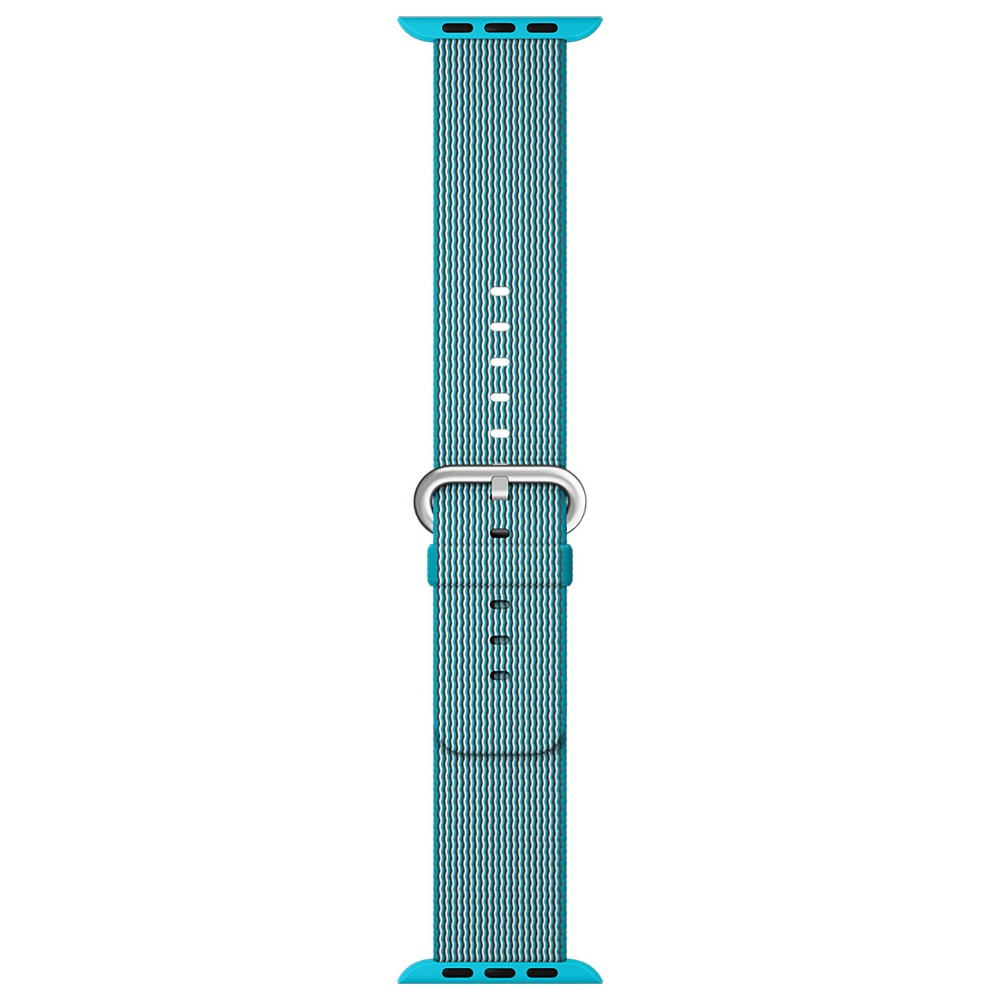 Apple Watch Woven Nylon Band 42mm - Scuba Blue