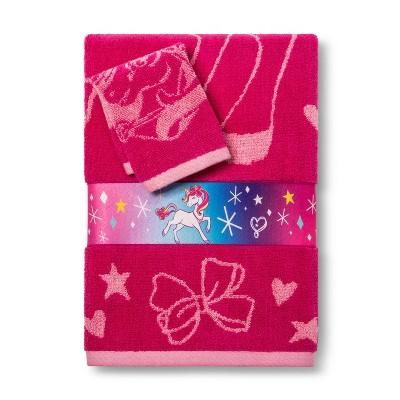 Nickelodeon JoJo Siwa Bath Towel Wash Cloth Set