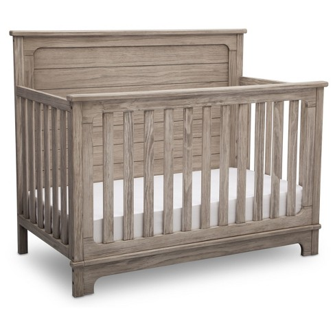Simmons Kids Slumbertime Monterey 4 In 1 Convertible Crib Rustic