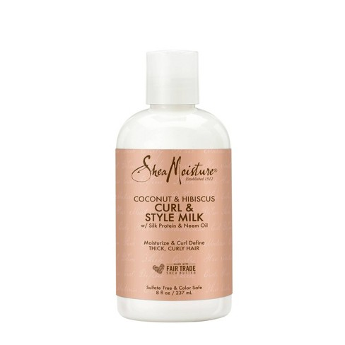 SheaMoisture Coconut & Hibiscus Curl & Style Milk- 8 fl oz - image 1 of 4