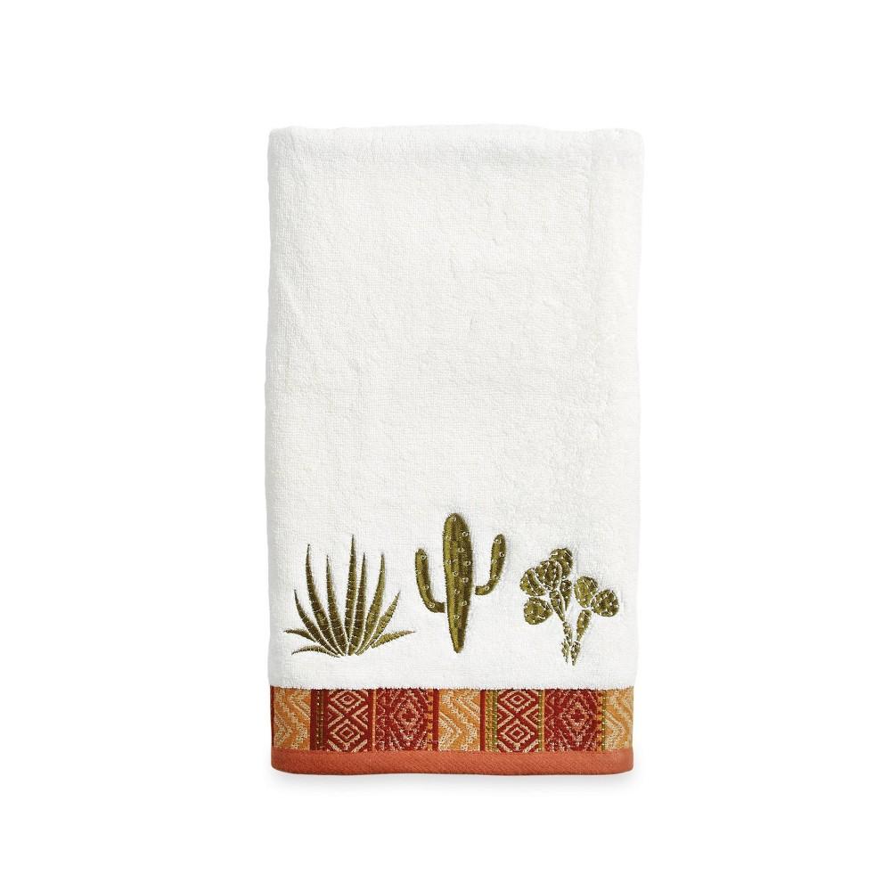 Image of Cactus Bath Towel Olive - Destinations