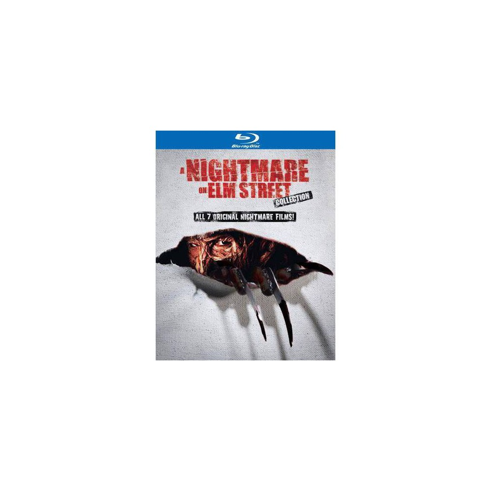 A Nightmare on Elm Street Collection - All 7 Original Films on Blu-Ray Now $19.96 (Was $59.99)