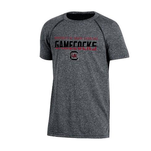 South Carolina Gamecocks Boys' Short Sleeve Crew Neck Raglan Performance T-Shirt - Gray Heather - image 1 of 1