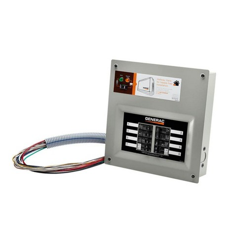 Generac Homelink 50 Amp Pre-wired Manual Transfer Switch for 10 to 16 Circuits - image 1 of 3