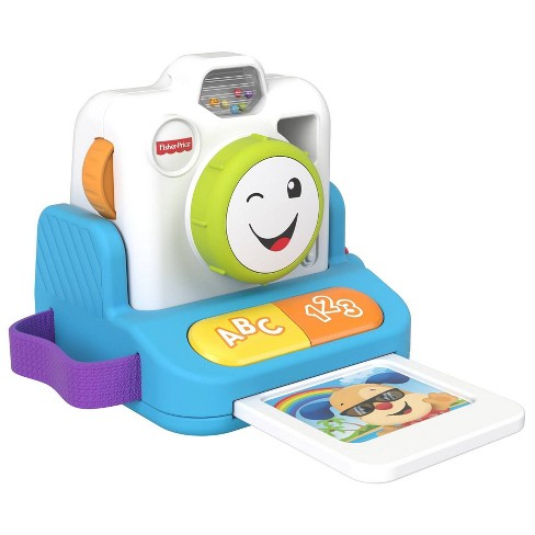 Fisher Price Laugh N Learn Click Learn Instant Camera Target