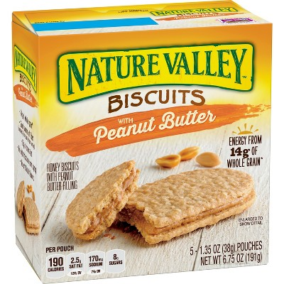 Natural Valley™ Peanut Butter Biscuits - 6.75oz