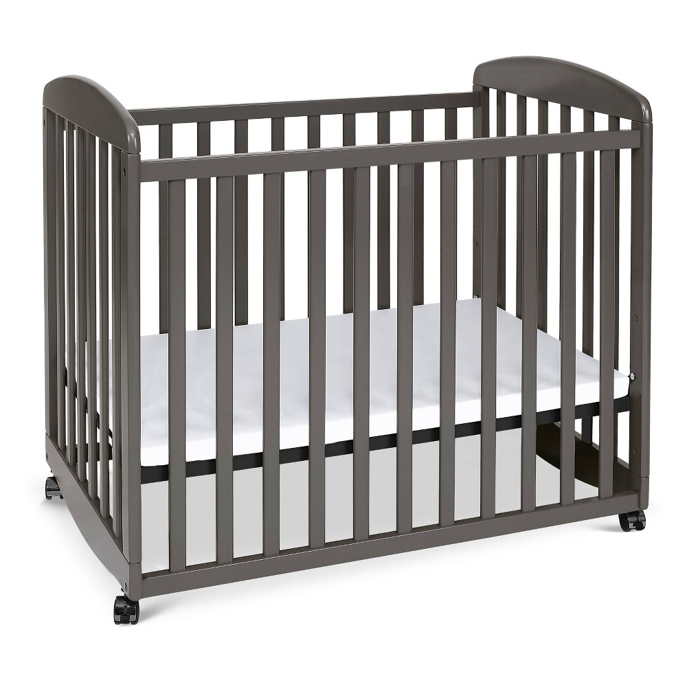 Image of DaVinci Alpha Mini Rocking Crib - Slate