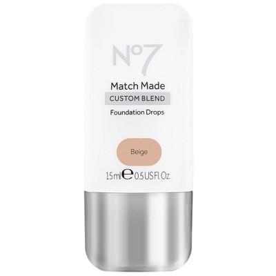 No7 Match Made Foundation Drops - 0.5oz